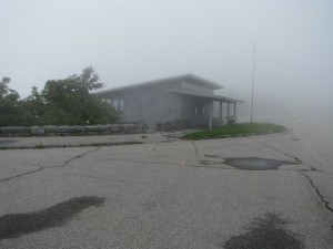Fog at Craggy VC