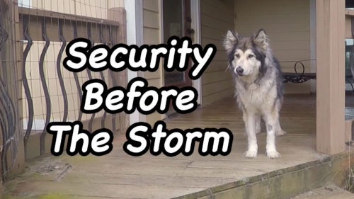 Security Before The Storm