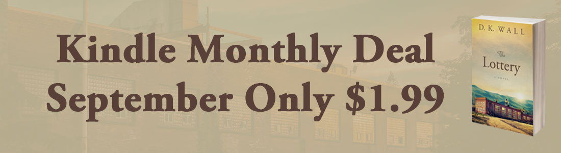 Banner Ad Kindle Monthly Deal