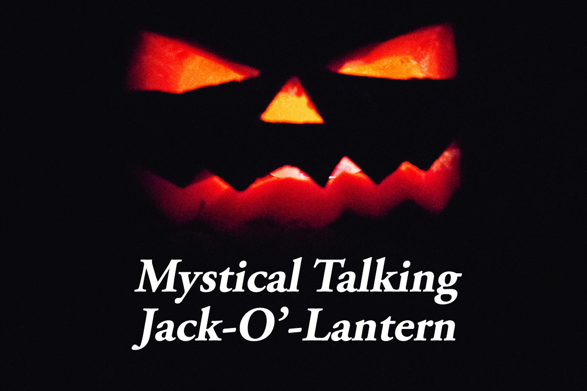 Mystical Talking Pumpkin